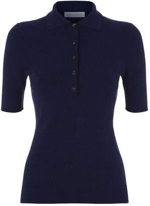 Victoria Beckham Knitted Polo Shirt