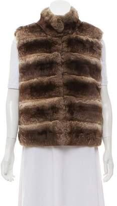 Loro Piana Cashmere-Lined Chinchilla Vest