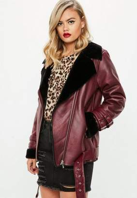 Missguided Contrast Aviator