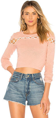 Lovers + Friends All Tied Up Sweater