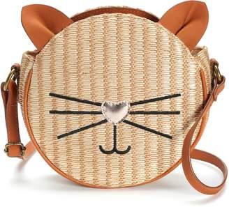 T-Shirt & Jeans T Shirt & Jeans Cat Straw Tambourine Crossbody Bag