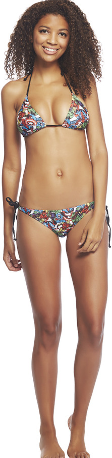 Wet Seal MarvelTM Swim Top