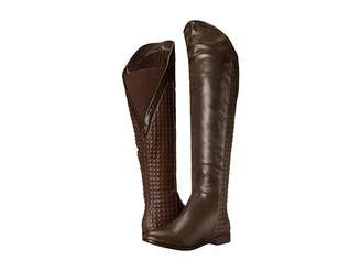 Chinese Laundry Racer Over the Knee Quilted Boot Women's Boots