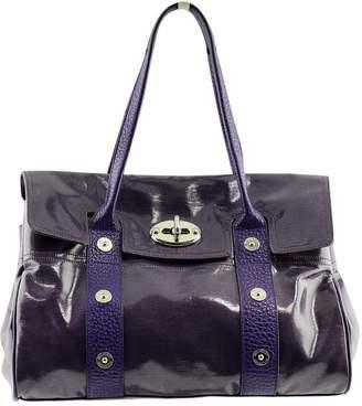 0ef9c4868987 Mulberry Alexa Purple Patent leather Handbag