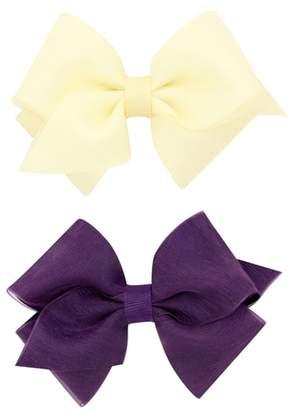 PLH Bows 2-Pack Organza Bow Hair Clips