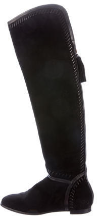 Jimmy Choo Jimmy Choo Suede Knee-High Boots