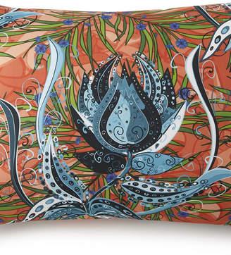 Colcha Linens Tropical Bloom Pillow Sham King Bedding