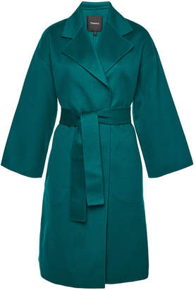 Theory Wool Coat with Cashmere