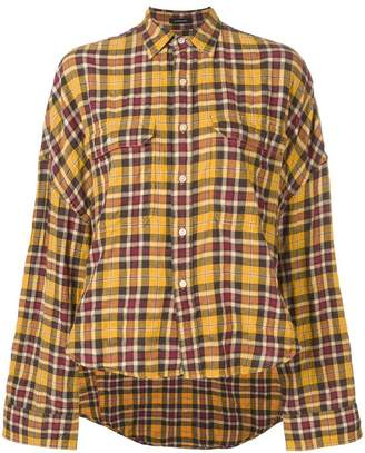 00fdc683347 Cropped Plaid Shirt - ShopStyle