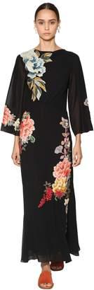 Etro Embellished Silk Georgette Dress