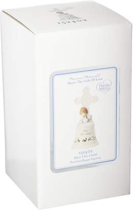 Precious Moments 152402 Bless This Child Girl Bisque Porcelain Bell