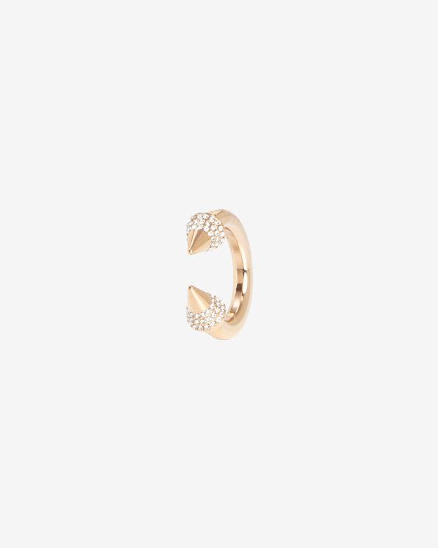 Vita Fede Crystal Titan Ring: Rosegold