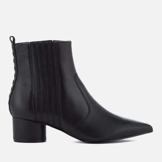 KENDALL + KYLIE Women's Laila Leather Heeled Chelsea Boots