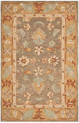 Safavieh Anatolia Corey Framed Floral Wool Rug