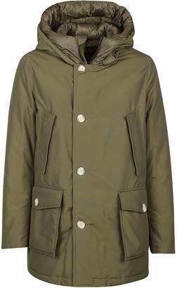 Woolrich Front Pocket Hooded Coat