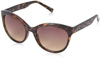 Calvin Klein Women's R735S Round Sunglasses