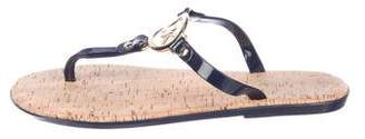 MICHAEL Michael Kors Logo Thong Sandals