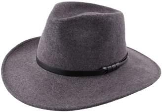 Classic Italy Classique Large Wool Felt Fedora Hat Size 59 cm