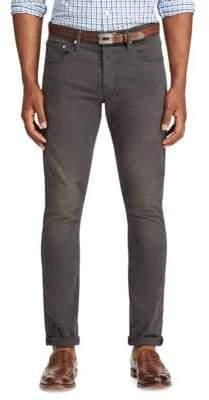 Polo Ralph Lauren Men's Slim Fit Stretch Trousers - Grey - Size 32x30