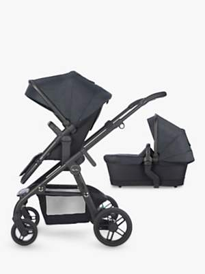 Silver Cross Coast Pushchair and Carrycot, Flint