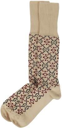 Gucci Gg Motif Diamond Socks
