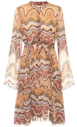 Chloé Exclusive to mytheresa.com – printed silk-crepon dress