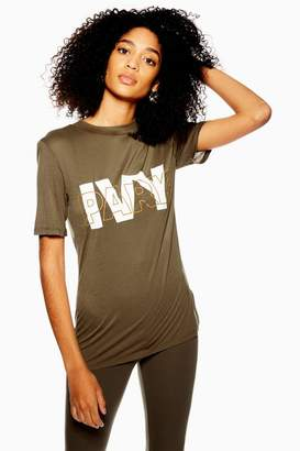Ivy Park Layer Logo Fitted T-Shirt
