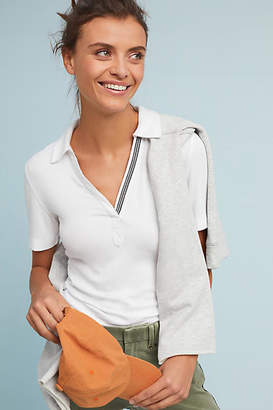 Anthropologie Brittany Collared Tee