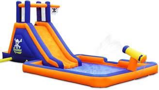 Pool' Blast Zone Buccaneer Inflatable Water Slide