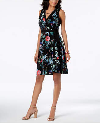 Tommy Hilfiger Floral-Print Wrap Dress, Created for Macy's