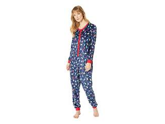 Karen Neuburger Get Lit Family Long Sleeve One-Piece Pajama