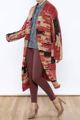 Free People Long Sleeve Cardigan $228 thestylecure.com