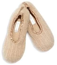 Sofia Cashmere Two-Piece Ballet Slippers & Drawstring Bag Set XWkuodYjt2