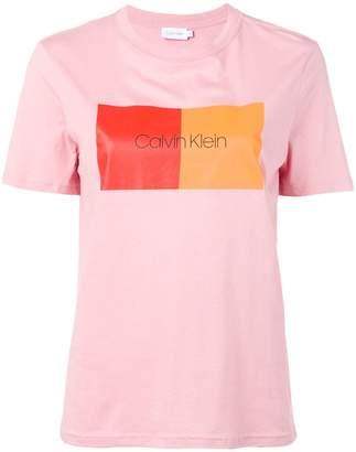Calvin Klein colour block T-shirt
