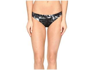 Lucky Brand Global Tie-Dye Reversible Skimpy Hipster Bottom