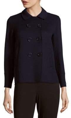Max Mara Oriele Wool-Blend Double-Breasted Jacket