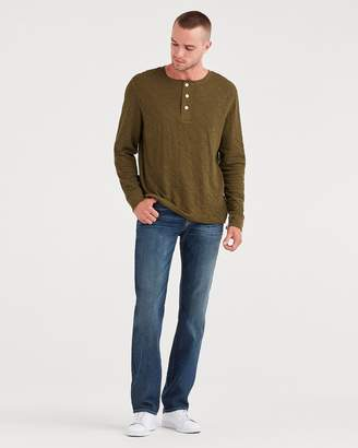 7 For All Mankind Airweft Denim Standard in Riptide