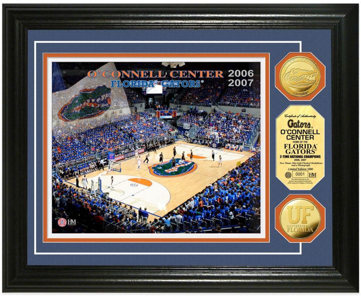 Bed Bath & Beyond University of Florida Collegiate Basketball Court Gold Coin Photo Mint