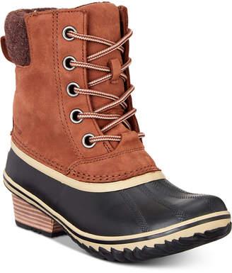 Sorel Women's Slimpack Lace Ii Waterproof Boots Women's Shoes