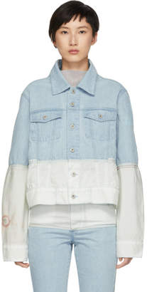 Off-White Kanghyuk Blue and Airbag Denim Jacket