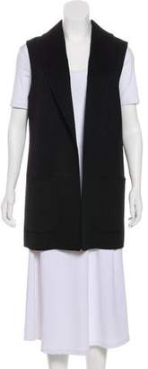 Michael Kors Wool-Blend Shawl-Lapel Vest