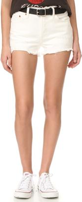 Levi's 501 Shorts $60 thestylecure.com