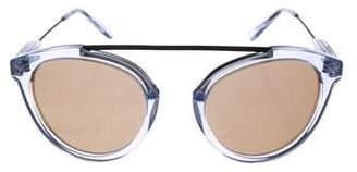 b8c2b05ce8 Westward Leaning Westward  Leaning Flower Mirrored Sunglasses w  Tags