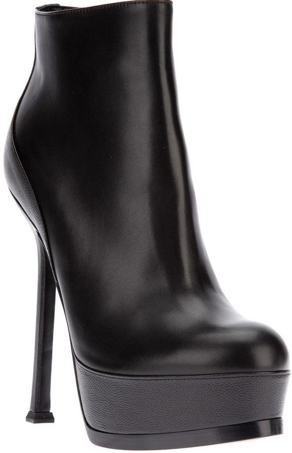 Saint Laurent 'Tribute Two' platform ankle boots