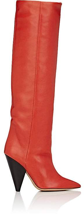 Isabel Marant Women's Laith Leather Knee Boots