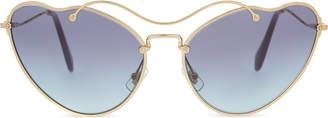 MU55RS Scenique cat eye-frame sunglasses