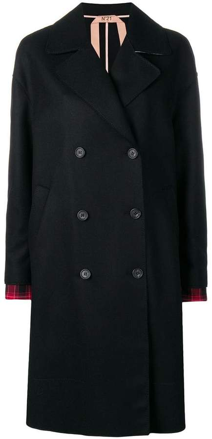 loose fitted coat
