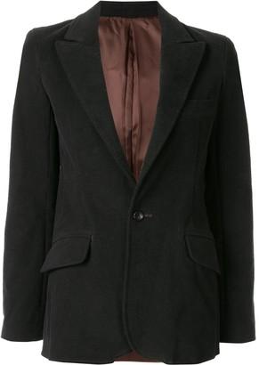 Sulvam single-breasted blazer