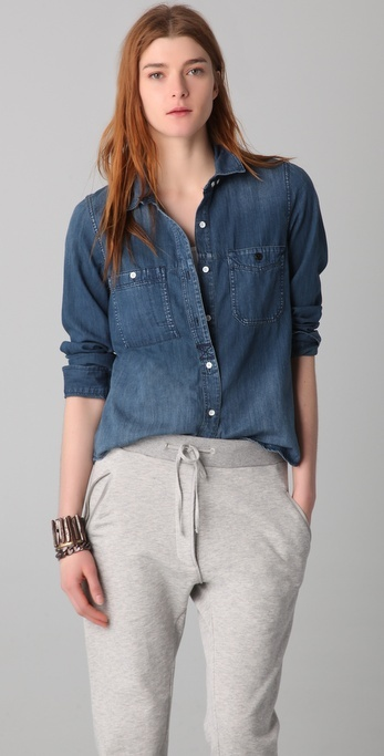 Madewell Detailed Camp Shirt