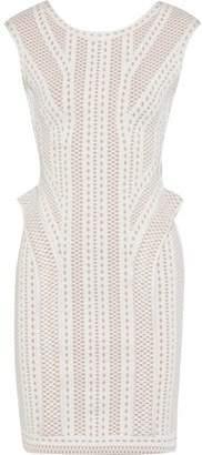 Herve Leger Jacquard-Knit Dress